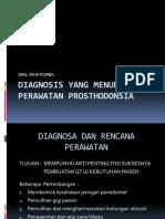 Diagnosis Yang Menunjang Perawatan Prosthodonsia