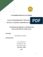 Contrato de Edicion y Estacionamiento Vehicular