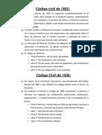 Código Civil de 1852