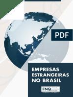 E-book Empresas Estrangeiras No Brasil FNQ