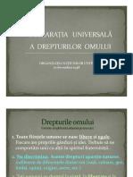 Anexa 5 Declaratia Universala