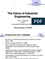 Future of Industrial Engineering