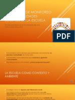 Programa de Monitoreo de Las Habilidades Sociales