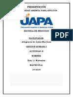 Gestion Humana Evaluacion de Desempeño IV Cp