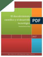 Descubrimiento cientifico y desarrollo tecnológico