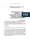 EVOLUCIÓN DE LINUX SERVERS