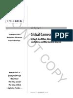 Global Gamesmanship