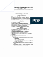Commonwealth immigrants Act 1962