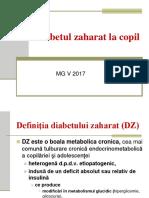Diabetul zaharat 2017