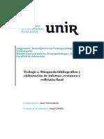 Investigación de Neuropsicologia