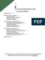 ion Calderas Ciclos de Concentracion