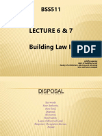 BSS 511 Lecture 5 & 6 (Disposal and Dealings)