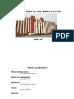 """""""Informe de Laboratorio Nº3"""""""