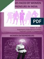 challengesfacedbywomenentrepreneursinindia-140327092414-phpapp02
