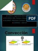 Mamani Condori Jesus Ubaldo - Conveccion Natural