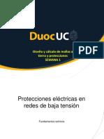 1 Protecciones Electricas en Redes de Baja Tension