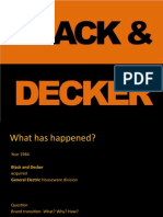 Black and Decker Case