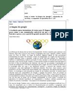 Examen Ingreso Portugues 2012