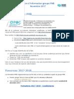 Lettre d'Information PMB Aix 1-2017