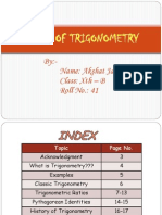 Story of Trigonometry