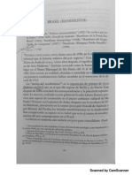 Manifiestos modernismo brasileño