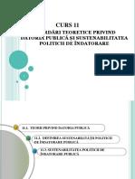 Cursul 11 Abordări teoretice privind datoria publică și  sustenabilitatea politicii de îndatorare.pdf