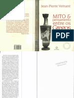 Mito e Pensamento Entre Os Gregos - Jean-Pierre Vernant