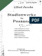 Jacobs Alfred - Studienweke Fur Posaune - Trombone Trios - By Dag`Dae - Sheet Score.pdf