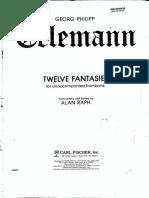 12 Fantasies - Telemann