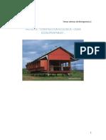 Proyecto Construcción Ecológica - Casas Autosustentables 20160725