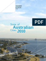 State of Australian Cities 2010