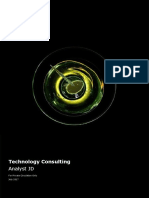 Analyst - Technology Consulting - Deloitte India