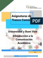 Microcurrículo Tronco Común ICA UBV
