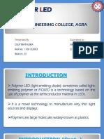 PolyLED Presentation