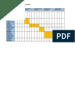Maqueta de Seccion de Una Edificacion de 5 Niveles
