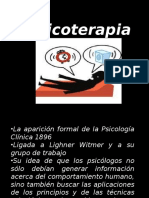 Introduccion a La Psicoterapia