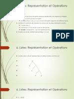 Plog Listes Representation Operations