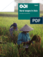 Rural wages in Asia