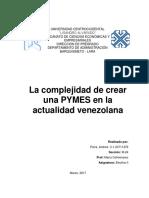 Ensayo Pymes