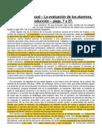 Philippe Perrenoud - La Evaluación de Los Alumnos, Págs. 7 a 27