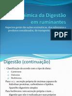 Bioquímica Da Digestão Em Ruminantes