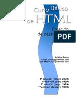 Curso HTML de creación de páginas web