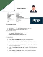 Curriculum Vitae Juan Urbano
