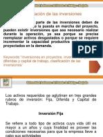 1.1 Presupuesto de Capital (Inv. Fija, Dif. y C.T.)