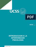 Clases Modelo de Intervencion