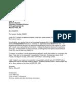 nathan holzworth complaint letter