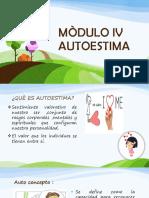 Mòdulo IV Autoestima