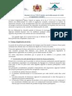 Note de Présentation Du Projet LB Fr