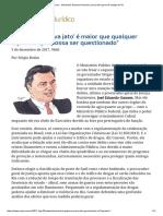ConJur - Entrevista_ Eduardo Gussem, Procurador-geral de Justiça Do RJ