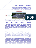 Qué Son Los Paneles Solares